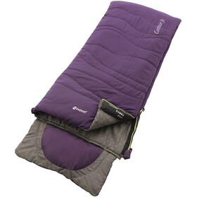 Outwell Contour Sacos de dormir Niños, eggplant purple